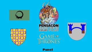 This is the Game of Thrones Panel from Pensacon 2017 at Saenger Theater in Pensacola. Watch as Ellie Kendrick (Meera Reed)...
