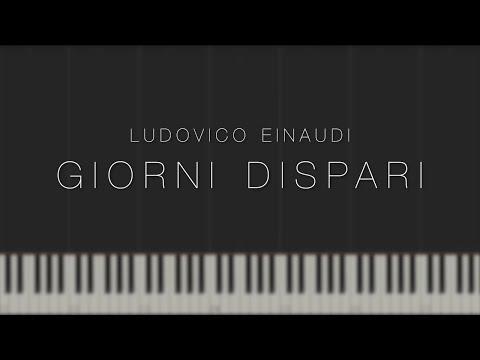 Giorni Dispari - Ludovico Einaudi \\ Synthesia Piano Tutorial
