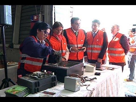 El reciclaje de productos electrónicos en Chile