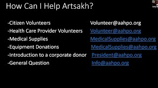 How can I help Artsakh