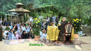 Breathing in, breathing out (song) - Thay. Thich Phap Hoa
