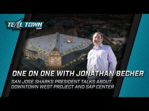 San Jose Sharks President Jonathan Becher On The Downtown West Development And SAP Center