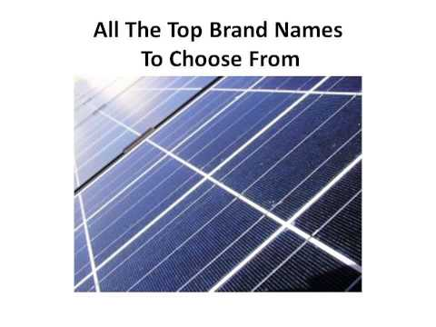 Rv Solar Panels | Sharp Solar Panels | Solar Power Information | How Much