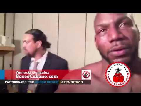 Las lagrimas de un Boxeador Cubano que conquistaron al mundo