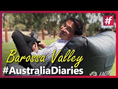 Harsha Bhogle - Barossa Valley