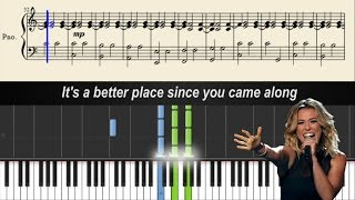 Rachel Platten - Better Place - Piano Tutorial + Sheets & Lyrics