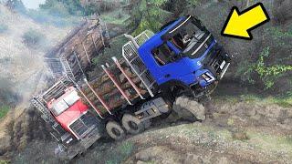 Video Truk Volvo Geret Truck Muatan Kayu Nanjak - Spintires Mudrunner MP3, 3GP, MP4, WEBM, AVI, FLV Maret 2019