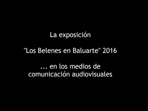 Los Belenes de Baluarte en la prensa audiovisual