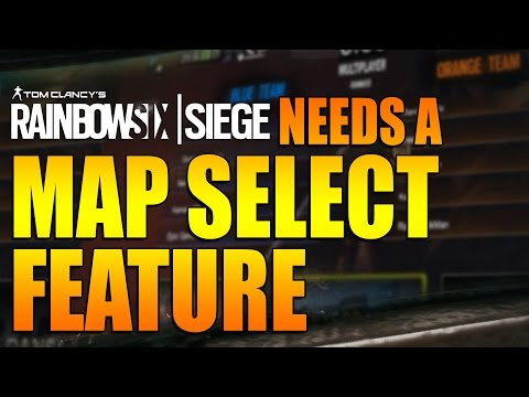 Rainbow Six Siege - In Depth: Needs a MAP SELECT FEATURE (видео)