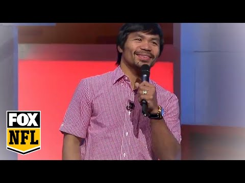 ~ America's - Manny Pacquiao performs an original song professing his love for the NFL on FOX Sports 1's America's Pregame show. Watch APG weekdays at 6p ET on FS1.