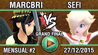 Afterlife 2 Grand Finals: Marcbri (Dark Pit, Cloud) vs. Seficompacto (Rosalina)