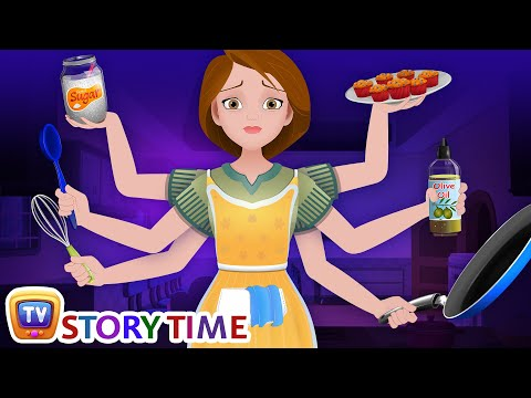 The Hardworking Mother - Good Habits Bedtime Stories & Moral Stories for Kids - ChuChu TV