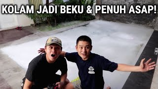 "Download Video EXPERIMENT 35KG DRY ICE/BIANG ES KE KOLAM RENANG! ""EXTREME"" MP3 3GP MP4"