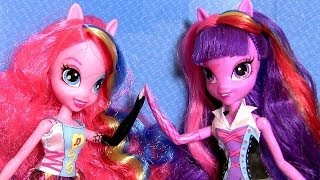 MLP Singing Twilight Sparkle Doll & Singing Pinkie Pie Doll My Little Pony Girls by Disney Collector