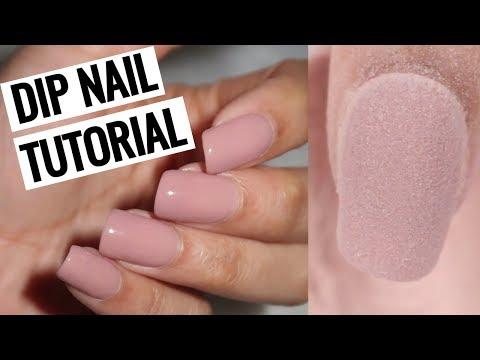 Gel nails - HOW TO DO DIP NAILS AT HOME!  Revel Nail