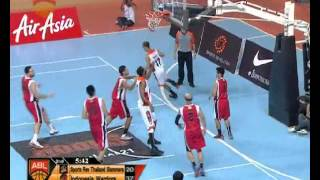 ABL 2013 Season Game 39 Highlights: Sports Rev Thailand Slammers Vs Indonesia Warriors