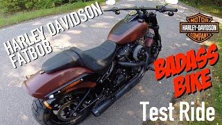 5. 2018 Harley Davidson Fat Bob 114 Test Ride BadAss Bike!