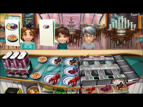 Cooking Fever Seafood Bistro Level 40 (3 Stars)