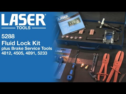 Fluid Lock Kit and Brake Service Tools