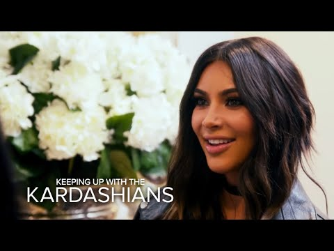 KUWTK | Kim Kardashian West Comes Face-to-Face With Her Lookalike | E!