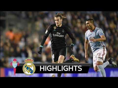 Celta Vigo vs Real Madrid 2-2 - All Goals & Extended Highlights - La Liga 07/01/2018 HD