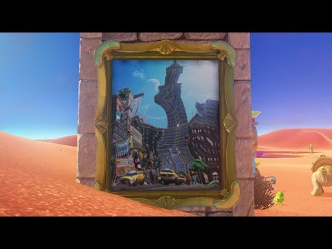 Super Mario Odyssey: All Warp Paintings Locations