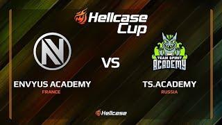 EnVyUs Academy vs TS.Academy, train, Hellcase Cup 6