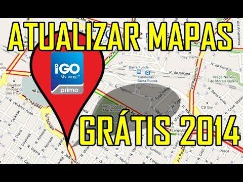 Atualizar iGO Atualizar Mapas GPS