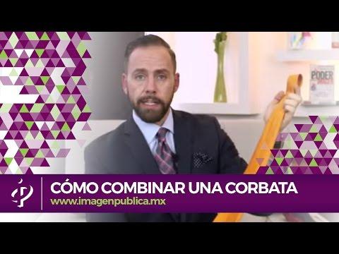 Cómo combinar una corbata - Alvaro Gordoa - Colegio de Imagen Pública