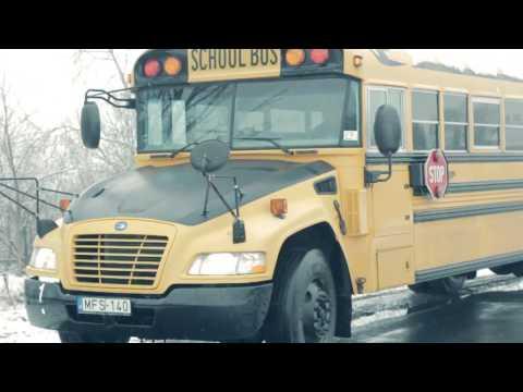 Blue Bird - Fábiánsebestyéni Iskolabusz - próbaút