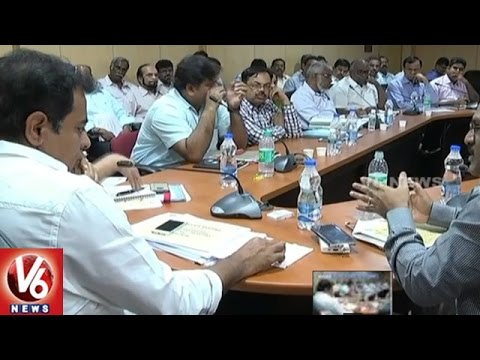 IT-And-Municipal-Minister-To-hold-Review-Meet-On-Hyderabad-City-Development-V6-News