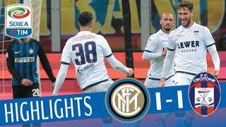 Video Inter - Crotone 1-1 - Highlights - Giornata 23 - Serie A TIM 2017/18 MP3, 3GP, MP4, WEBM, AVI, FLV Juni 2018