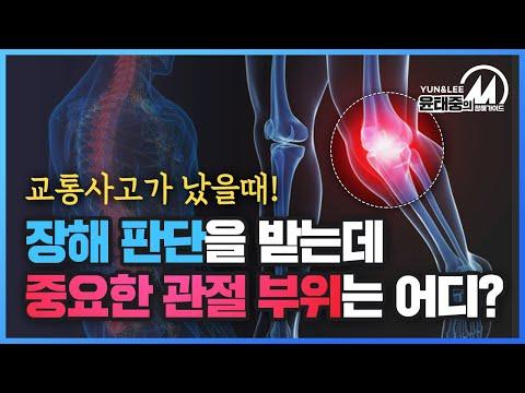 [윤태중의 M 장해 가이드] 장해 판단의 가장 중요한 3대 관절은? …관절과 신경에 대해 톺아보자❗