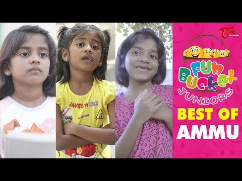 Fun Bucket JUNIORS | Best Of Ammu | Kids Funny Videos | Comedy Web Series