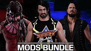 With SummerSlam 2017 this Sunday, I thought I showcase some SummerSlam 2016 Mods! AJ Styles, Dolph Ziggler and Finn Balor is by JulianBITW. Seth Rollins is by Kaa992.Show some love by leaving a like, sharing and subscribing for more awesome videos like these!OUTRO MUSIC: Undertaker's Rollin Theme Cover by JAYDEGARROWJAYDEGARROW's YouTube: https://www.youtube.com/channel/UCit4zHRRYaU5Og8ZHqvA7jQFOLLOW ME HERE:Facebook: https://www.facebook.com/julian.rosado.14Twitter: https://twitter.com/Jules1451Instagram: https://www.instagram.com/jules1451/Snapchat: @Jules1451Want to see more WWE 2K16 & WWE 2K17 Content? Visit this link for more! http://www.thesmackdownhotel.com