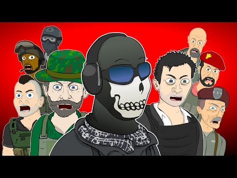 Call of Duty Modern Warfare Musicals Animated Songs