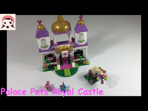 Vidéo LEGO Disney 41142 : Le château royal des Palace Pets