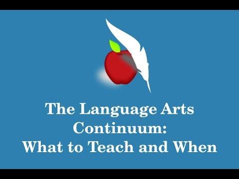 The Language Arts Continuum