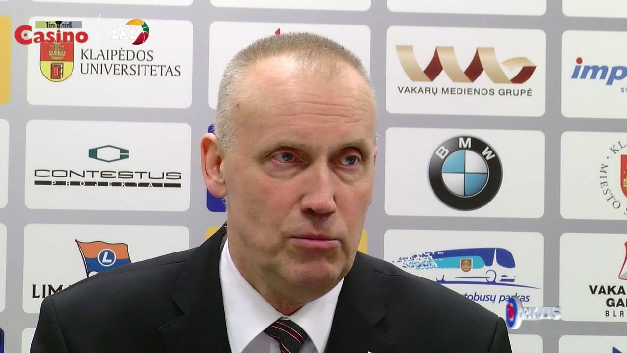 """R. Kurtinaitis: """"Tikėjomės laimėti šiandien"""""""