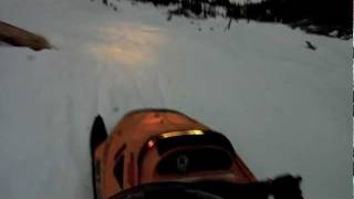 8. going over the ski-doo skandic 550