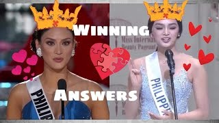 Video Miss International 2016 Question and Answer & Miss Universe 2015 Winning Answer MP3, 3GP, MP4, WEBM, AVI, FLV November 2017