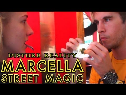 Disturb - Jarek 1:20 hits the streets to perform powerful magic and hypnosis to strangers. Watch Marcella's bonus reaction interview -- http://www.youtube.com/watch?v=...