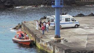 Recolhe corpo de indivíduo de 59 anos na Ilha de São Jorgede , Açores