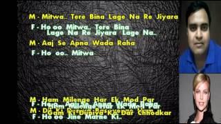 Video karaoke Zindgi ki na toote ladi only for male singer download in MP3, 3GP, MP4, WEBM, AVI, FLV January 2017