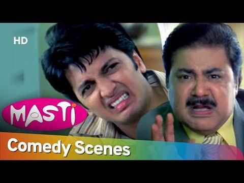 Masti - Riteish Deshmukh - Aftab Shivdasani - Hit Comedy Scene - #Shemaroo Comedy
