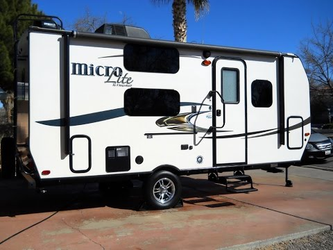 SOLD! 2016 Forest River Flagstaff 19FD Micro Lite Camping Trailer Light Weight