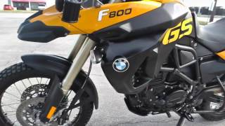 6. U01334 - 2009 BMW F800GS - Used motorcycles for sale