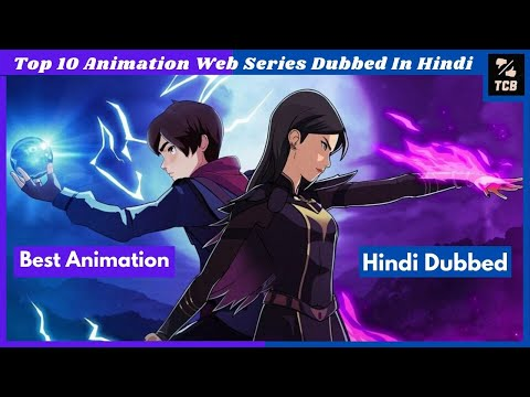 Top10 Animation Web Series In Hindi On Netflix, Amazon Prime  Top10 Best Anime Shows in Hindi Dubbed