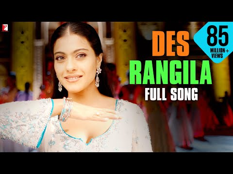 Video Des Rangila - Full Song | Fanaa | Aamir Khan | Kajol | Mahalaxmi Iyer download in MP3, 3GP, MP4, WEBM, AVI, FLV January 2017