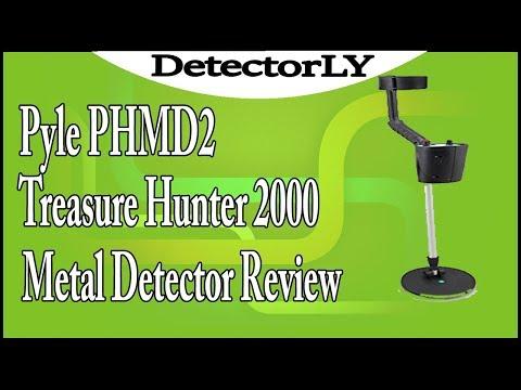Pyle PHMD2 Treasure Hunter 2000 Metal Detector Review